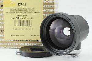 【Almost Unused】Nikon Nikonos  DF-12 Finder 20mm f/2.8 from Japan #28A