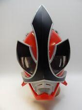 Power Ranger SAMURAI Warrior Battle MASK Red Bandai 2011 Costume Child Dress Up