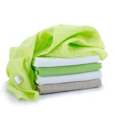 Mullwindeln / Mulltücher / Spucktücher - 5 Stück, 70x70 cm - Grün (bunt, farbig)