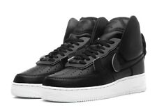 PSNY x Nike Air Force 1 High 'Black Leather' AO9292-002 Size UK 7 EU 41 US 8 New