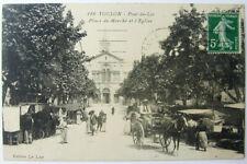 CPA TOULON Pont-du-Las place du Marché