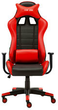 New High Back Racing Gaming Chair Bucket Seat Office Computer Desk Chair Red