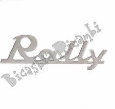 """2945 TARGHETTA POSTERIORE IN ALLUMINIO """" RALLY """" VESPA 180 200 RALLY"""