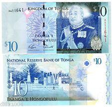 TONGA Billet 10 PA'ANGA ND 2008  2009 P40 ROI  NEUF UNC