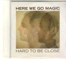 (DT639) Here We Go Magic, Hard To Be Close - 2012 DJ CD