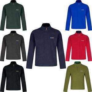 Regatta Thompson Fleece Anti Pill Mens Fleece Jacket Lightweight Big Size S-4XL