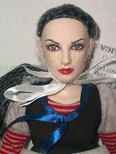 """AVA Sinister Circus Tonner DOLL NRFB 2013 Goth 15"""" Teen Body Alice Sister Sclp"""