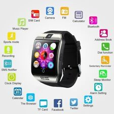 2018 Bluetooth Touch Screen Smart Watch Q18 For Android mobiles&iPhone 3 Color