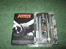 Accept - Objection Overruled (cassette)