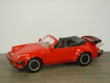Porsche 911 Turbo Cabrio - NZG Models 304 Germany 1:43 *41907