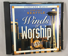 Winds of Worship 13 Live from Seattle Various Artists CD 1999 Vineyard Music