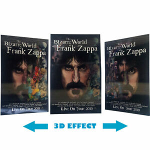 FRANK ZAPPA official euro-tour 3D poster