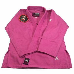 FUJI Sports Women's All Around Pink BJJ Gi Kimono Jacket Size W1 - NWT