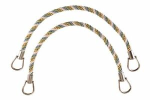 "Green Gold Blue 18"" Rope Tiebacks Mountain Spring [Pair Of]"