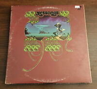 Yes Yessongs Original Pressing Vinyl Record LP Album SD 3-100 1973
