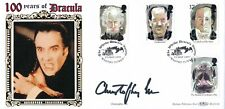 1997 Benham First Day Cover Tales of Horror signed by Christopher Lee