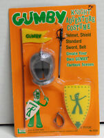 1965 Gumby Knight Adventure Costume by Lakeside Toys Made in Hong Kong NIP