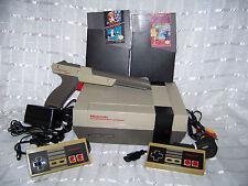Nintendo NES Console Bundle REFURBISH PINS Game lot Super Mario Bros BAKER BILLS