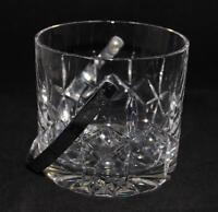 "Atlantis Crystal FERNANDO Ice Bucket with Detachable Handle, 4 3/4"" tall"