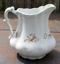 "Antique MELLON TAYLOR & Co England Canongate ANGLETTERE Porcelain  8""h Pitcher"