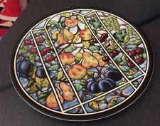 Masons V&A Victoria & Albert Museum Art Nouveau frutti su placca di viti Caricabatterie