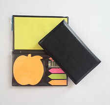 140 Pgs Teacher Sticker Post It Bookmark Case Marker Memo Notepad Sticky Notes