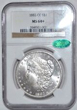 1883-CC MORGAN DOLLAR - NGC - MS 64+ - CAC STICKER APPROVED