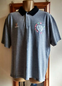 MENS OFFICIAL GUINNESS RUGBY 6 NATIONS EMBROIDERED POLO SHIRT SIZE 2XL / XXL