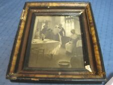 ANTIQUE FAMILY PICTURE IN OLD WALNUT FRAME???