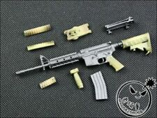 """1:6 Scale Weapon Model WWII M4A1 SOPMOD Assembly Gun Toys For 12"""" Action Figure"""