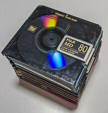 10 Minidisc 80 minutes