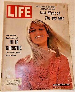 April 29, 1966 LIFE Magazine LAST @ THE MET Opera house FREE SHIP CHURCHILL PART