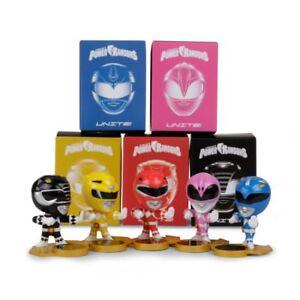 Loot Crate Power Rangers Unite. Full Set of 5!