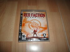 RED FACTION GUERRILLA DE VOLITION INC. PARA LA SONY PS3 NUEVO PRECINTADO