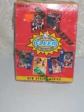 "1991-1992 FLEER NBA Basketball Card Wax Box ""New Update Series"" FACTORY SEALED!"