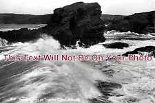 CO 135 - Breaking Waves At Tristram Point, Polzeath, Cornwall - 6x4 Photo
