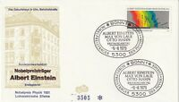 GERMANY 9 AUGUST 1979 NOBEL PRIZE WINNERS FIRST DAY COVER BONN SHS (b)