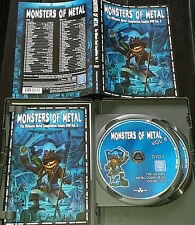 Monsters Of Metal 2xDVD Vol.6 Nightwish Dimmu Borgir Gojira Hammerfall In Flames