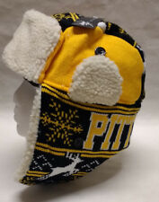 Pittsburgh Steelers Team Color City Name Trooper Hat - Warm & Well Made!!! WOW!!
