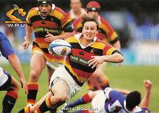 Rhys Duggan, Waikato RUGBY PLAYER POSTCARD