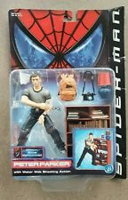 Spiderman 1st Movie Peter Parker with Water Web shooting Action Toy Biz MOC