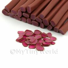 3x Chocolate Covered Turkish Delight Canes - Nail Art (11nc50)