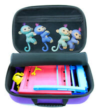 Travel KIDCASE Fits Fingerlings Baby Monkey Collector Toys with Accessories