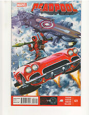 DEADPOOL #21, (3rd Series), NM or better, 1st Print, Marvel Comics (Feb. 2014)