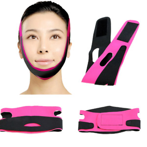 Face V-Line Slim Lift Up Mask Chin Cheek Slimming Belt Strap Band FREE POSTAGE