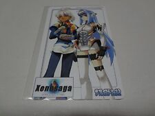 Xenosaga (Type 1) Sony PS2 The Playstation 2 Magazine Special Telecard Japan NEW