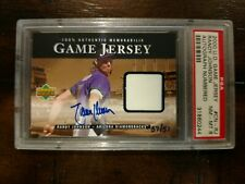 2000 Upper Deck UD Game Jersey Autograph RANDY JOHNSON Auto Crash Numbered /51