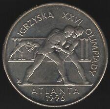 More details for 1995 poland 2 zlote '1986 olympics-atlanta' rare | european coins|pennies2pounds