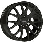 "4-Vision 18 Hellion 16x7 5x4.5"" +38mm Gloss Black Wheels Rims 16"" Inch"