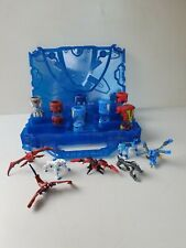 Monsuno Core Capsules Toys Action Figures Blue Carry Case Xmas gift model toy